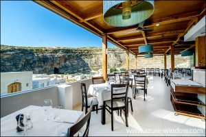 Azure Window Wine Bar & Restaurant San Lawrenz Dwejra Bay Gozo Malta