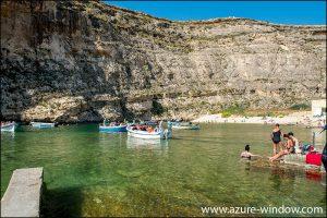 Azure Window Wine Bar & Restaurant San Lawrenz Dwejra Bay Gozo Malta